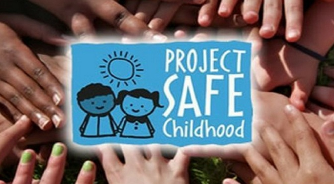 .jpg photo of Project Safe Childhood graphic
