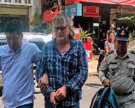 .jpg photo of North Carolina man arrested in Cambodia for child sexual abuse